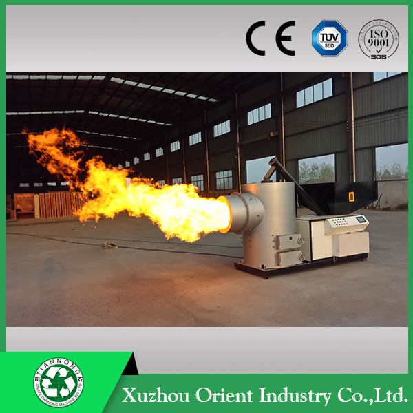 Environmental burner pellet used