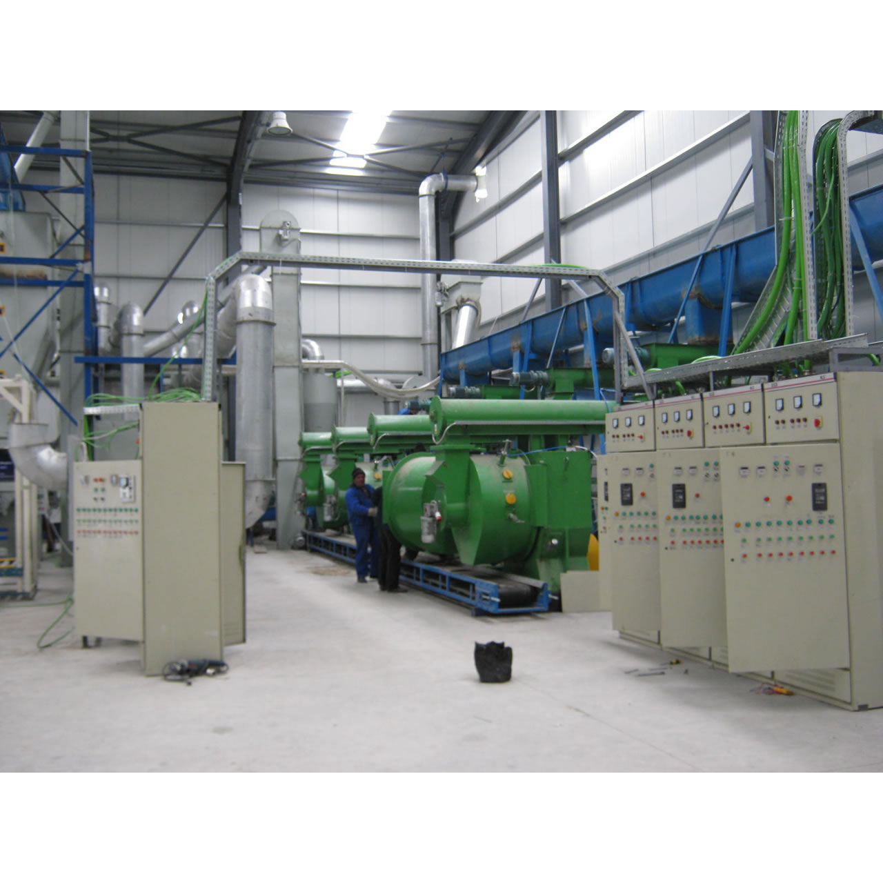 8TPH Animal Feed Pellet Production Line in Romania